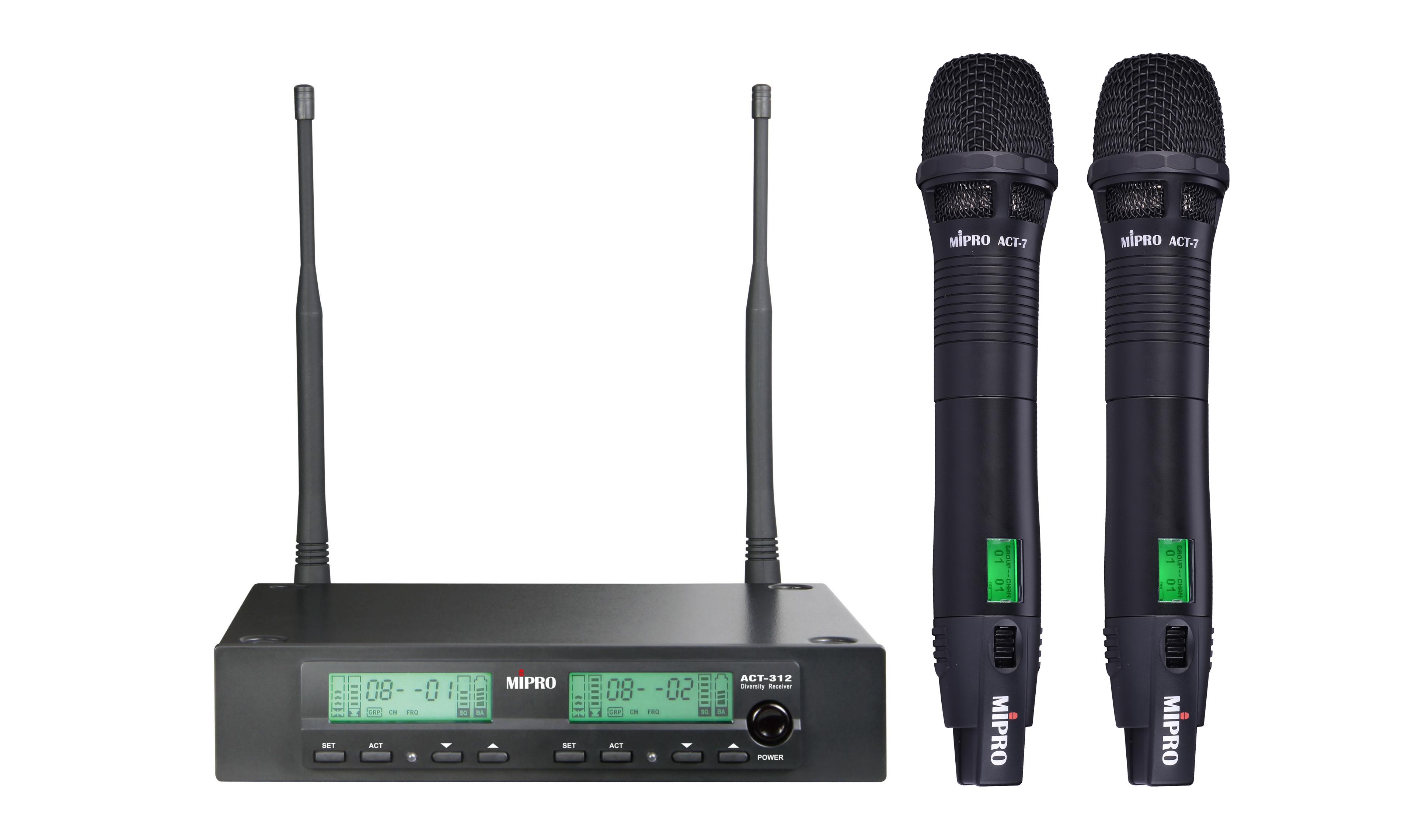 Konferenční a pěvěcký mikrofon